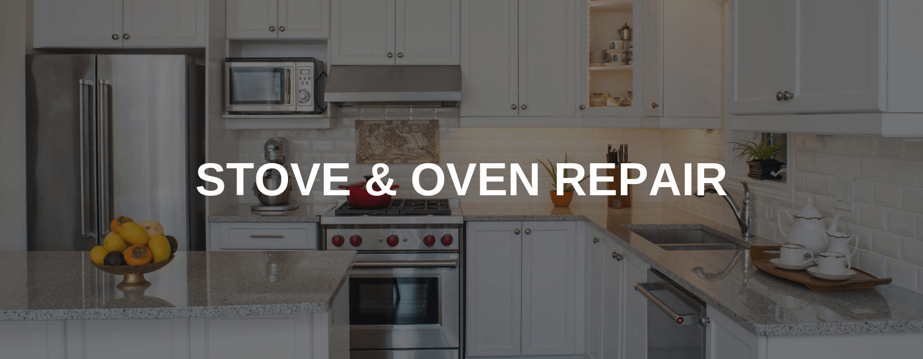 stove repair west haven